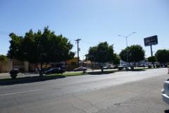 ulice před hotelem