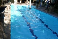 bazén u posilovny