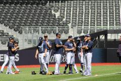 Yankees při tréninku